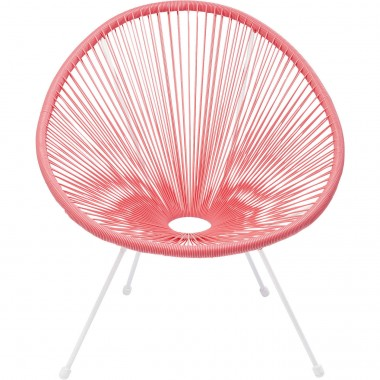Fauteuil Acapulco coral