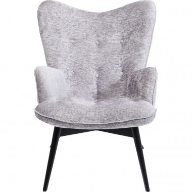 Fauteuil Vicky Wilson gris Kare Design