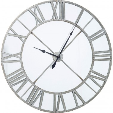 Wall Clock Factory Mirror Ø123cm Kare Design