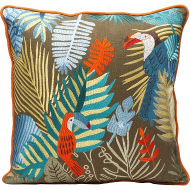 Cushion Exotic Parrots 45x45cm Kare Design