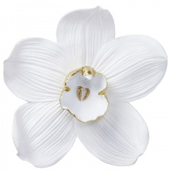Wall Decoration Orchid White 54cm Kare Design