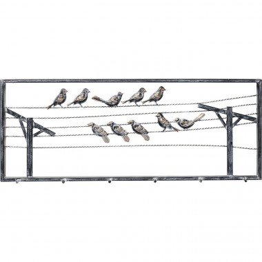Coat Rack Bird On The Line Kare Design