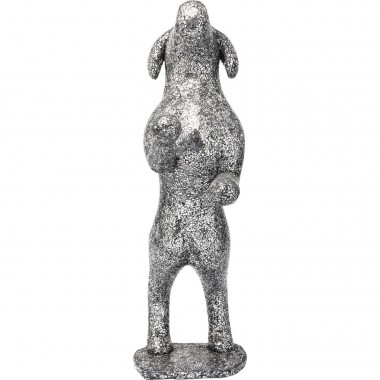 Deco Object Crystal Begging Dog Kare Design