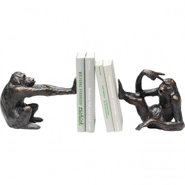 Bookend Monkey (2/Set) Kare Design