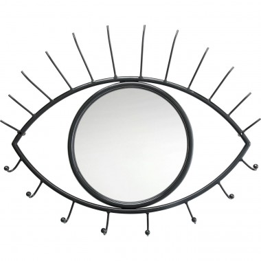 Coat Rack Eye Mirror Kare Design