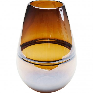 Vase Dallas Drop Brown 27cm Kare Design