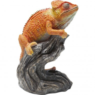 Money Box Chameleon Orange Kare Design