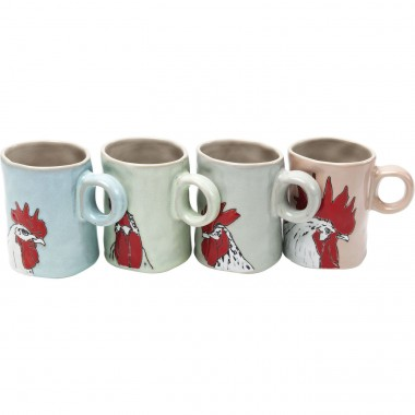 Mug Mrs Hen Assorted Kare Design