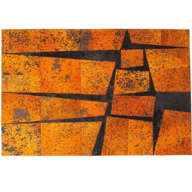 Carpet Blocks Orange 240x170cm Kare Design