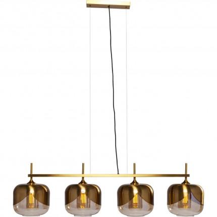 Suspension Goblet Quattro dorée 25cm Kare Design