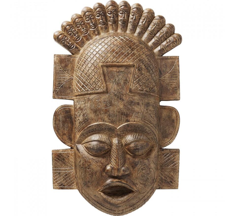 Wall Decoration African Mask 90cm Kare Design