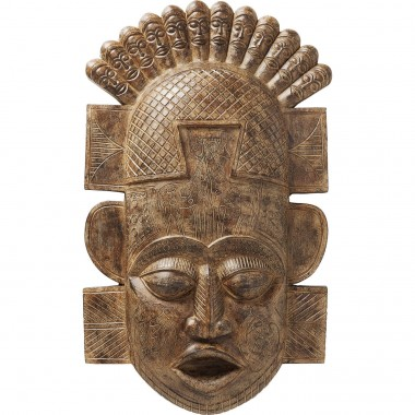 Wall Decoration African Mask 90cm Kare Design