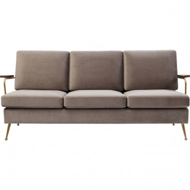 Sofa Gamble Sand 3-Seater Kare Design