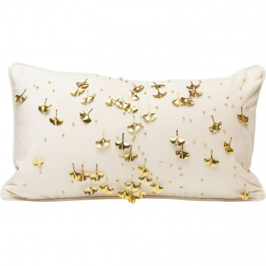 Cushion Ginkgo Beige 28x50cm Kare Design