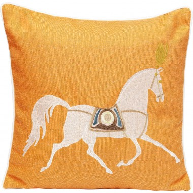 Cushion Classy Horse Orange 45x45cm Kare Design