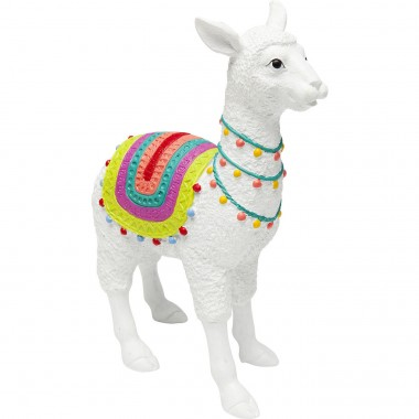 Deco Object Alpaca White 39cm Kare Design