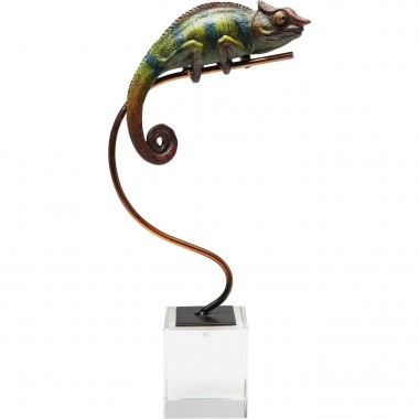 Deco Object Chameleon Green Kare Design