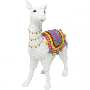 Deco Object Alpaca White 51cm Kare Design