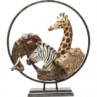 Deco Object Animal Circle 57cm Kare Design