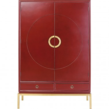 Armoire Disk rouge Kare Design