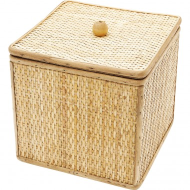 Deco Box Bamboo Square 21x21cm Kare Design