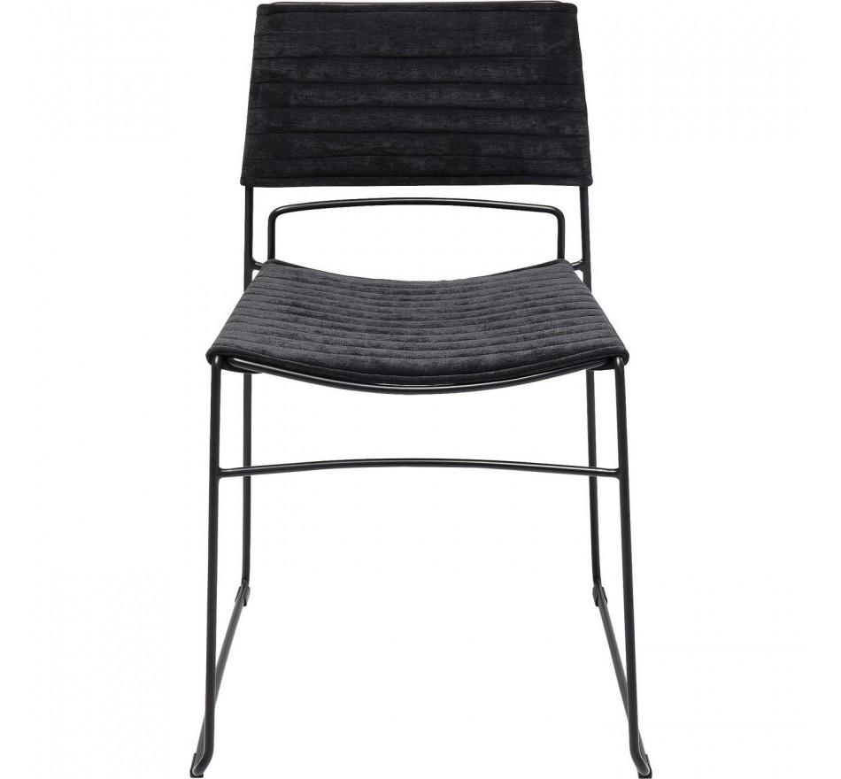 Chair Hugo Black Black Kare Design