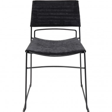 Chair Hugo Black Black Kare Design