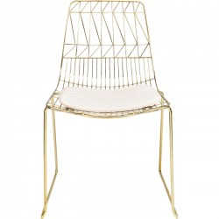 Chair Solo Creme Gold Kare Design