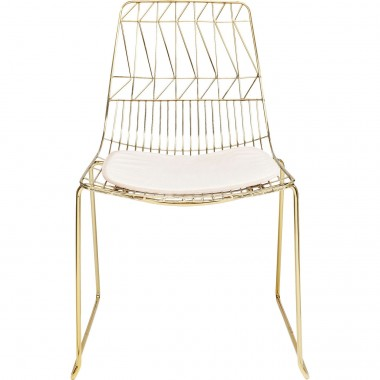 Chair Solo Creme Gold Kare Design