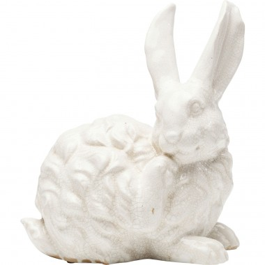 Deco Object Rabbit White 31cm Kare Design
