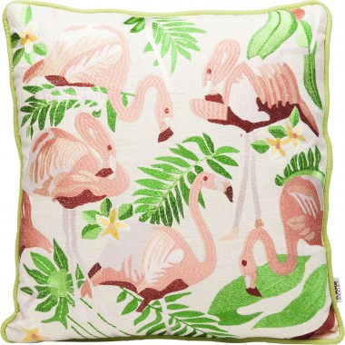 Cushion Exotic Flamingo 45x45cm Kare Design