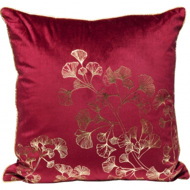 Cushion Ginkgo Tree Purple 45x45cm Kare Design