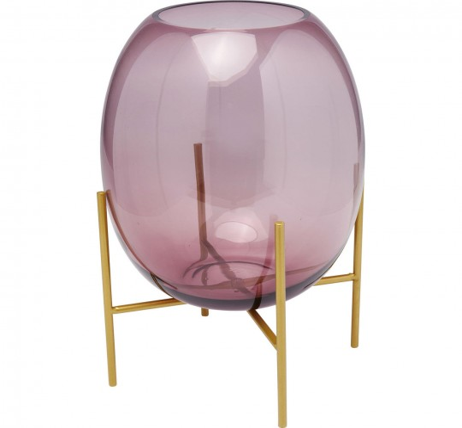 Vase Stilt Purple 37cm Kare Design