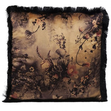 Cushion Romantic Garden Fringe 45x45cm Kare Design