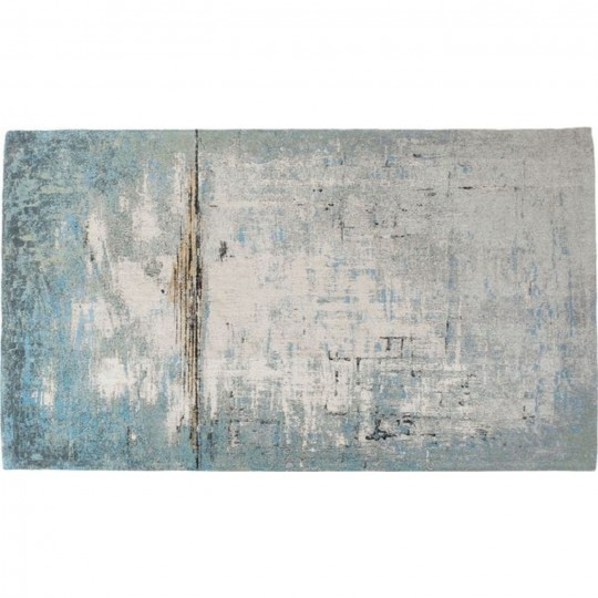Abstract Rug Blue Kare Design