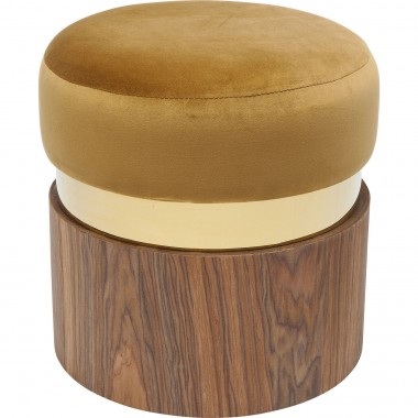 Stool Lilly Mustard Ø39cm Kare Design