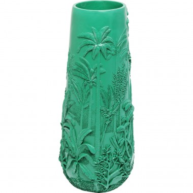 Vase Jungle Turquoise 83cm Kare Design