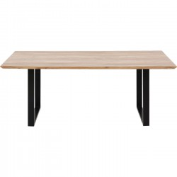 Table Symphony Black 180x90cm Kare Design