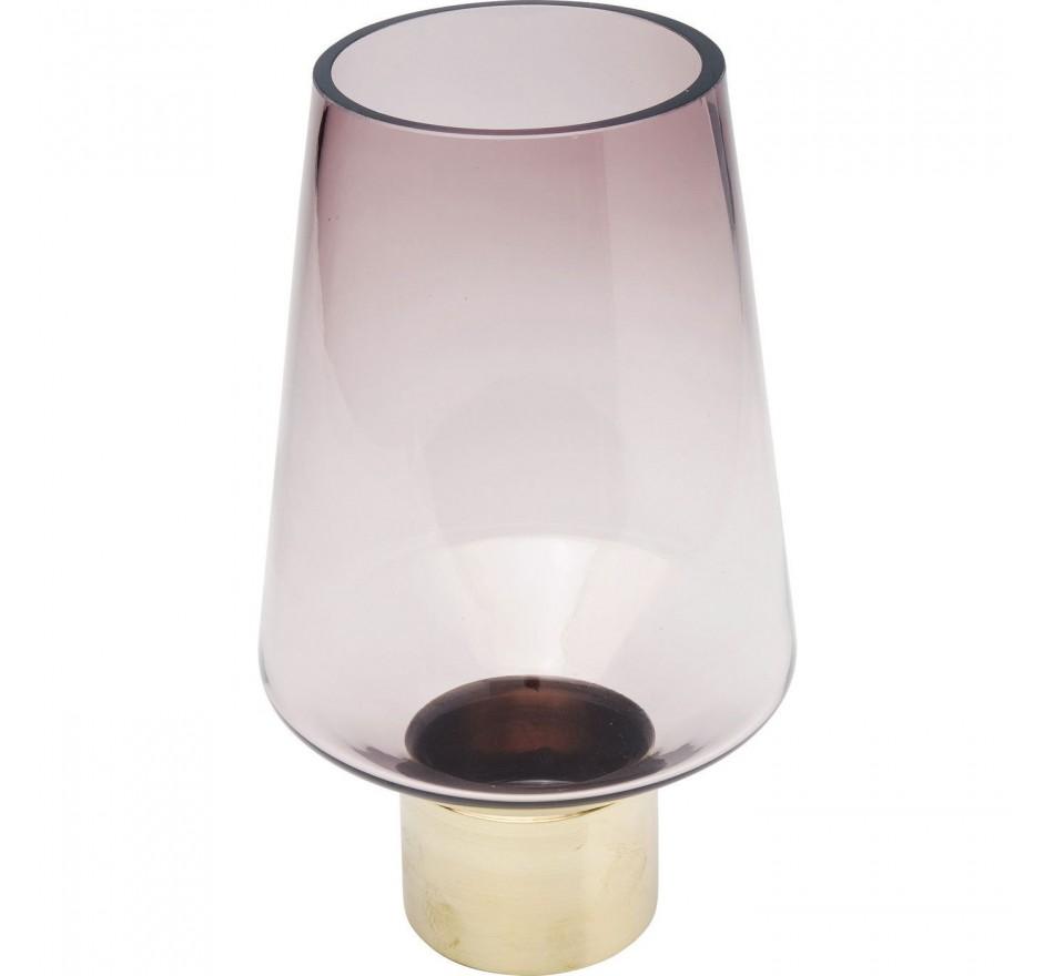 Vase Noble Ring Purple 26cm Kare Design