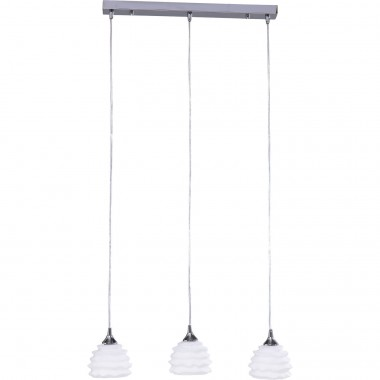 Suspension Ruffle Dining blanche Kare Design