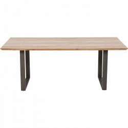 Table Symphony acier 160x80cm Kare Design