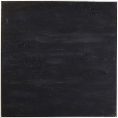 Oil Painting Abstract Deep Black 155x155cm Kare Design