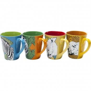 Mug African Heros Assorted Kare Design