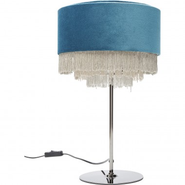 Table Lamp Tassel Bluegreen Kare Design