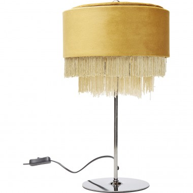Table Lamp Tassel Yellow Kare Design