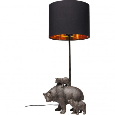 Table Lamp Bear Family Kare Design