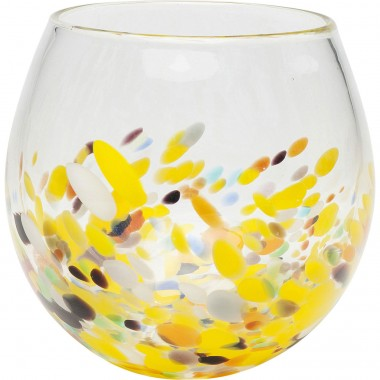 Vase Abstract Dots 19cm Kare Design