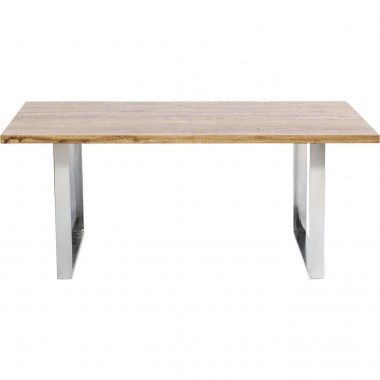Table Jackie Oak GK Chrome 180x90cm Kare Design