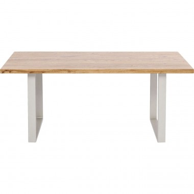 Table Jackie Oak GK Silver 180x90cm Kare Design