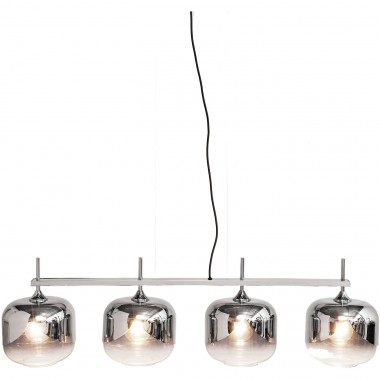 Hanging Lamp  Chrome Goblet Quattro  Ø25cm Kare Design